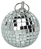 "Mirror Ball 50mm (2""), Silver"