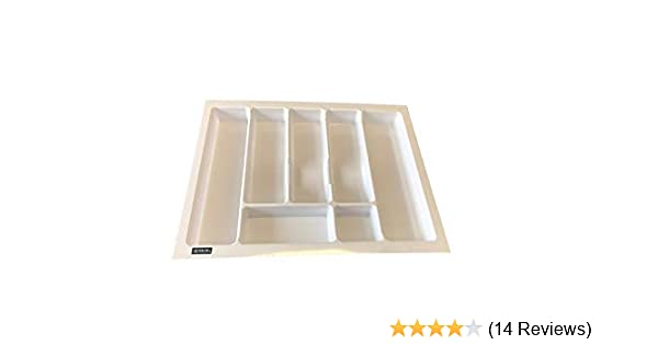White, 600 - 530X430 KITCHEN CUTLERY TRAY