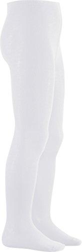 Playshoes Mädchen Uni Strumpfhose, (Weiß), 110/116 (Creme Mädchen Kostüm)