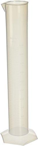 Lab Set 500ml Kapazität Clear White Plastic graduiert Radzylinder