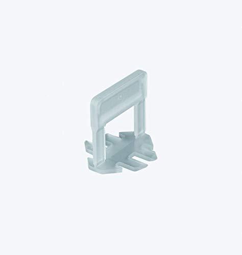 Bases 1 mm para sistema de crucetas autonivelantes - Bolsa de 500 piezas