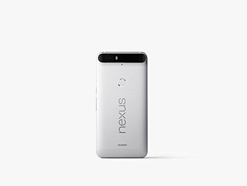 "Huawei Nexus 6P - Smartphone de 5.7"" (Amoled QHD, Qualcomm Snapdragon 810 1.5 GHz, 3 GB RAM, cámara de 13 MP/8 MP, memoria interna de 32 GB, Android 6.0), plateado"