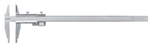 Standard N-Gage 00514026Nonio de calibre Vernier (de acero carbono con schneidenförmigen Calibre chenkeln (, 0mm-300mm, 0.02mm