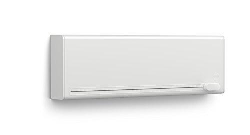 emsa folienschneider Emsa 515231 Folienschneider für 2 Folien, Wandmontage ohne Bohren, Weiß, Smart