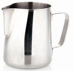 Aufschäumkännchen - Aufschäumkanne - Aufschäumer Edelstahl 150 ml für Latte Art thumbnail