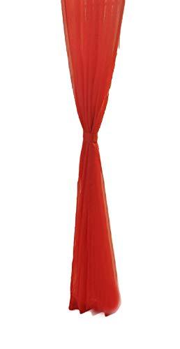 Pondkoo 2pc pure color tulle porta finestra tenda drappo pannello sheer sciarpa mantovane per soggiorno camera da letto 100x 270cm b
