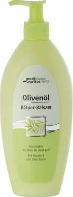 medipharma cosmetics Olivenöl Körperbalsam, 1er Pack(1 x 1 Stück) -