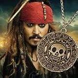 Collar medallón Azteca Piratas del Caribe