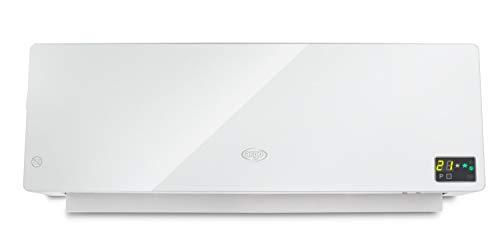 Argo Chic White Termoventilatore Ceramico a Parete, Con Timer Settimanale, Bianco