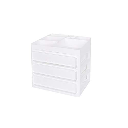 JSY PP Caja de Almacenamiento de cosméticos de plástico para aparador Multifuncional...