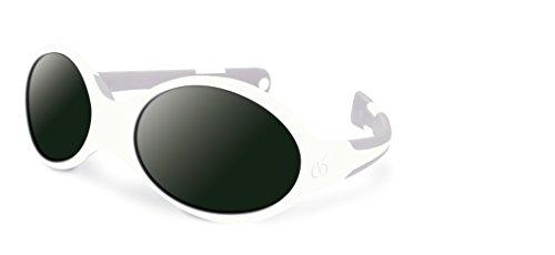 Visiomed 06902S-6 Babysonnenbrille, 0-12 Monate, weiß