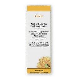 GiGi-Honee Cloth Epilating Muslin Strips, 0600 (100 sm. (1.7x 4.5))