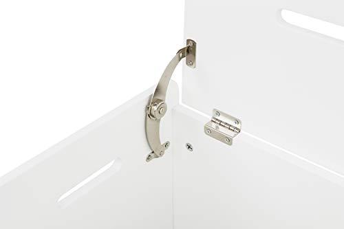 profondit/à: 35 cm Carrello da Cucina in Legno Bianco Larghezza: 65 cm House /& Homestyle Altezza: 79 cm