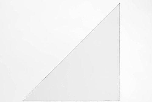 Durable 831819 Dreiecktasche Cornerfix 140 x 140 mm Packung á 100 Stück transparent (Pvc-computer-tasche 100%)