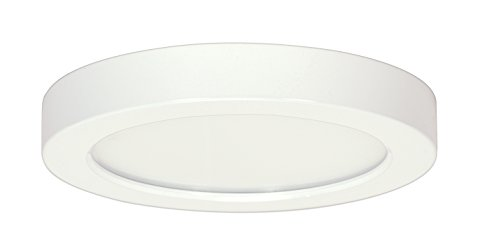 Satco Products S9336 Blink Flush Mount LED Fixture, 18.5W/9, White by Satco -