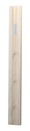 Tecnos Stone 170 Appendiabito Verticale da Parete, Pannello truciolare Rivestito in melamminico, Rovere segato, 170 cm