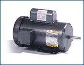 Baldor L3607 General Purpose AC Motor, Single Phase, 184 Frame,