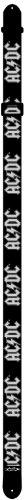 Perri's LPCP-1034 - Tracolla per chitarra con logo AC/DC, in poliestere, larghezza: ca. 5 cm