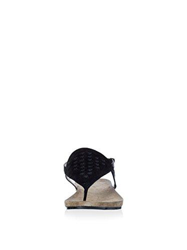 Café Noir Ff645, Sandales Plateforme femme Noir - noir