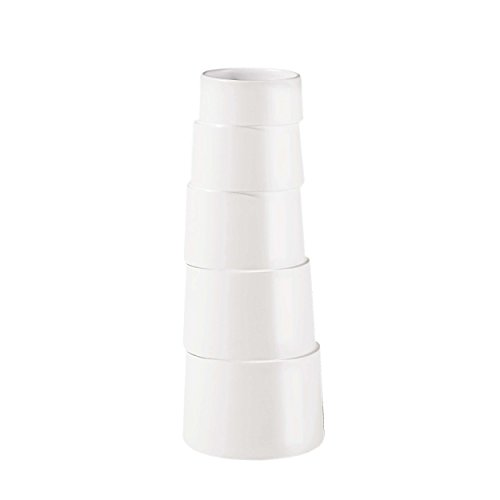ASA Hula Bodenvase, Keramik, weiß, 70x33x70 cm