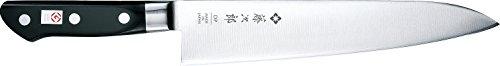 Tojiro Messer - japanische 3 Lagen Messer 3HQ - Gyuto Chef Kochmesser PROFI - Klinge 24 cm - Edelstahlzwinge - 809