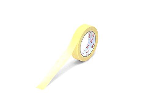 Flachkrepp-Klebeband/bis 60°C 25 mm x 50 m Hotmelt-Kleber ** Verpackungseinheit: 36 Rolle ** (Verpackungseinheit)