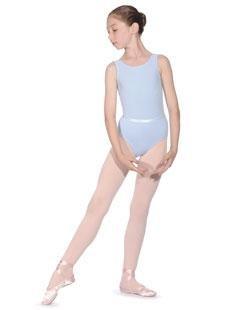 Girls Roch Valley regulation ballet dance leotard pink/lavender/blue/white