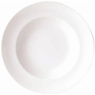 Classique Blanc Dimensions: 235mm assiette à soupe (9,25 \