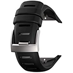 SUUNTO KIT Bracelet ELASTOMERE D6i Novo Noir