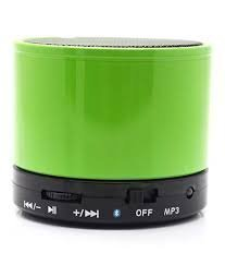 Ecom Delhimart Latest Extra Bass Wireless Speakers with Bluetooth, FM Radio and SD Card Slot