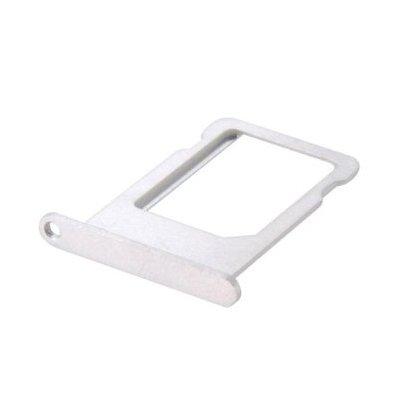 coque2mobile Tiroir Support Carte Nano Sim pour Apple iPhone 5S Argent/Silver - Piece DETACHEE Argent