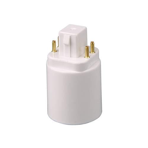 EdBerk74 Adaptador lámpara luz LED GX24Q E27 Portalámparas