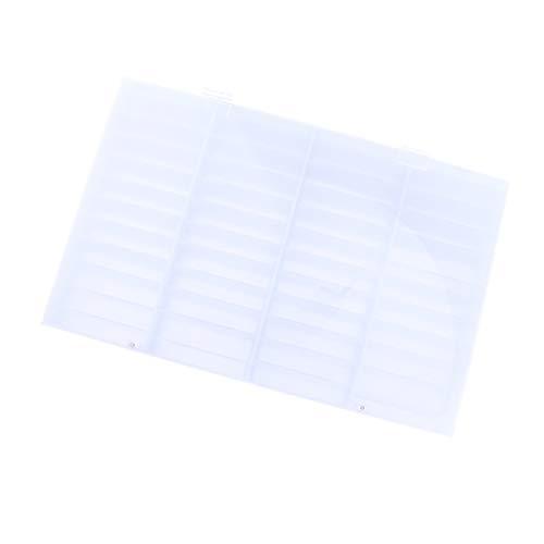 perfeclan 26 Compartiments Rangement pour Rouges à lèvres, Brosse,Pinceaux Accessoire de Organisateur