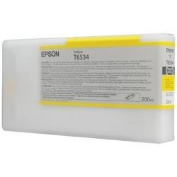 Preisvergleich Produktbild Epson T6534 Tintenpatrone, Singlepack, gelb