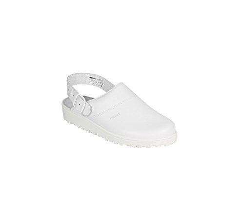AWC Sandale weiß/mint, Ristpolster, Zoccoli donna Bianco