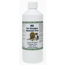 KG Wash & Go No Rinse Pet Shampoo 500ml. Rids & Protects from Mange, Fleas, Ticks, Mites & Itchy Skin Problems, Promotes Hair Re-Growth. SLS, Paraben, Pesticide & Chemical Free