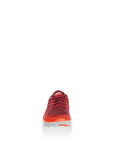 Nike Free Rn Distance, Chaussures de Running Entrainement Homme Rojo (Team Red / Off White-University Red)