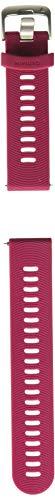 Garmin Quick Release Band, Cerise, 010-11251-1C Garmin Forerunner Quick Release