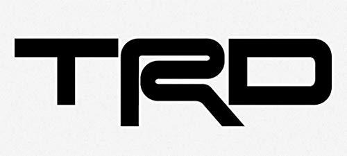 SUPERSTICKI (2 Pair) TRD Toyota Racing Development Car Window Vinyl Decal Sticker ca. 20cm Aufkleber Autoaufkleber Wandtattoo - Toyota Trd Decals