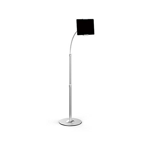 Thingy Club Aluminium verstellbar höhenverstellbar Schwanenhals kompatibel mit iPad/Tablet/Handy Halter Halterung Halter Bodenständer -