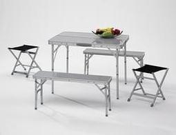 Brunner Campingbedarf Picknick-Set ALU für 6 Personen, 31444