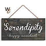 BridgetWhy50 Serendipity Sign