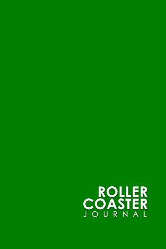 Roller Coaster Journal Green Coaster