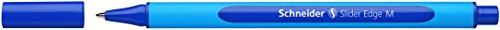 Schneider Schreibgeräte Kugelschreiber Slider Edge, Kappenmodell, M, blau, Schaftfarbe: cyan-blau
