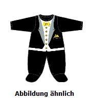 Borussia Dortmund BVB Strampler/Babystrampler ** Anzug mit Fliege ** (74/80)