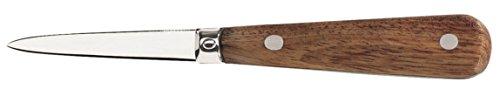 Le Couteau Du Chef Il Coltello del Capo 404700-Coltellino per Ostriche Professionale Acciaio Inossidabile Legno 23,3x 2,4x 1,8cm