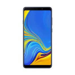 Samsung Galaxy A9 2018 (128GB, 6GB RAM) 6.3″ Display, Quad Camera, 4G LTE Dual SIM GSM Factory Unlocked, International Version – No Warranty (Lemonade Blue)