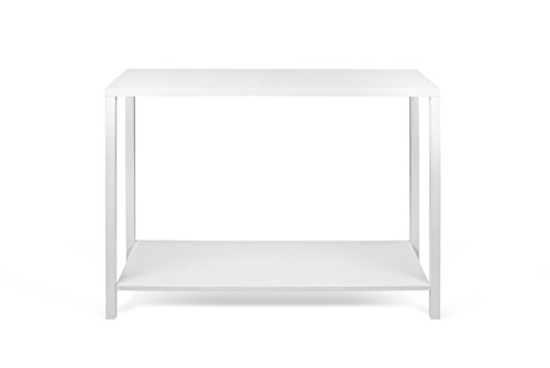TemaHome Basics Console, 104 x 40 x 80 cm, laqué Blanc Mat