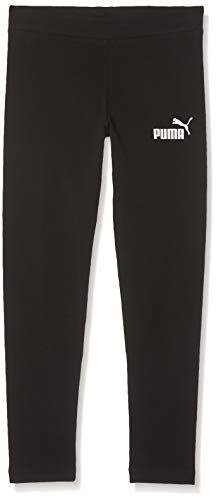 PUMA Mädchen ESS Leggings G Hose, Cotton Black, 128