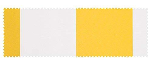 Galleria fotografica PARAMONDO Campione di tessuto della tenda da sole a bracci Easy | Tessuto giallo-bianco